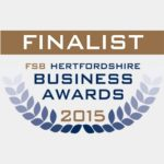 Federation of Small Business (FSB) Finalist as Best New Business in Hertfordshire