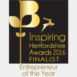TekOne Technologies Ltd. Entrepreneur of the Year Award finalist by Hertfordshire Chamber of Commerce
